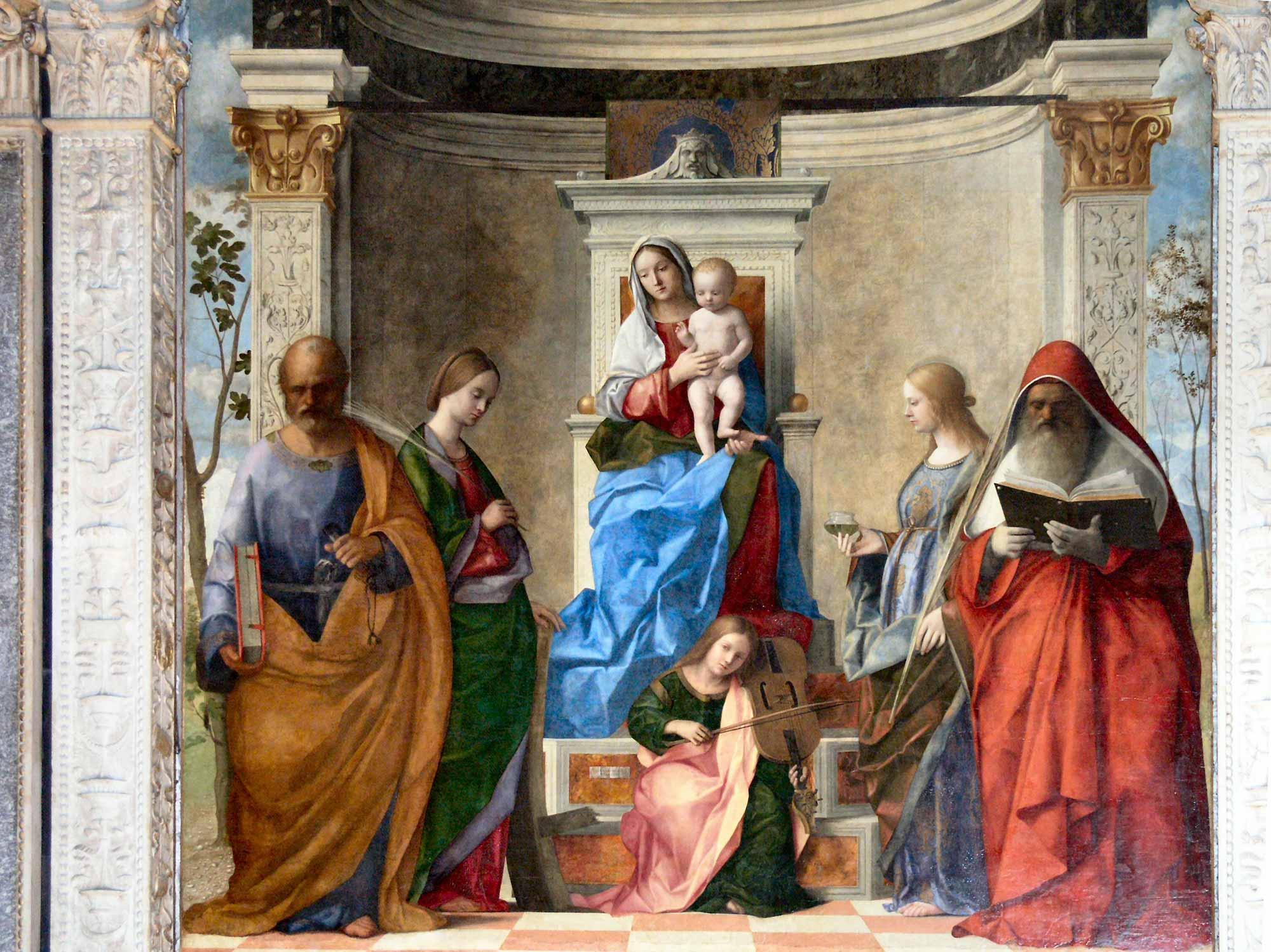 Giovanni Bellini Kutsal Sohbet