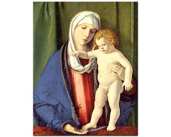 Giovanni Bellini Madonna ve Isa