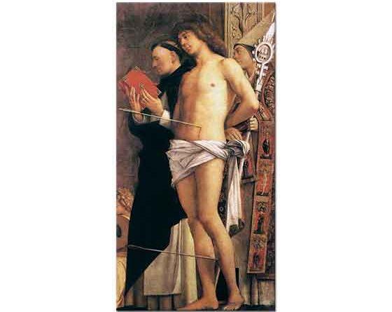 Giovanni Bellini St Sebastian