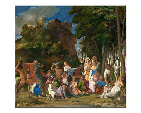 Giovanni Bellini Tanrıların Şöleni