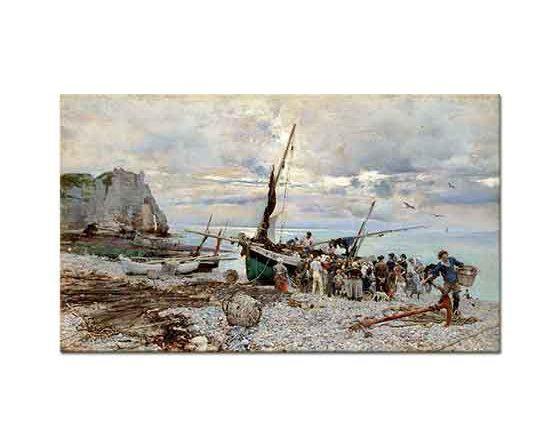 Giovanni Boldini Balıkçıların Dönüşü