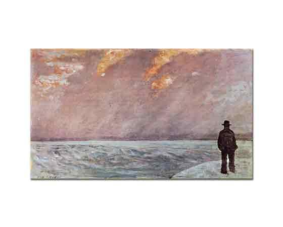 Giovanni Fattori Denizde Gün Batımı