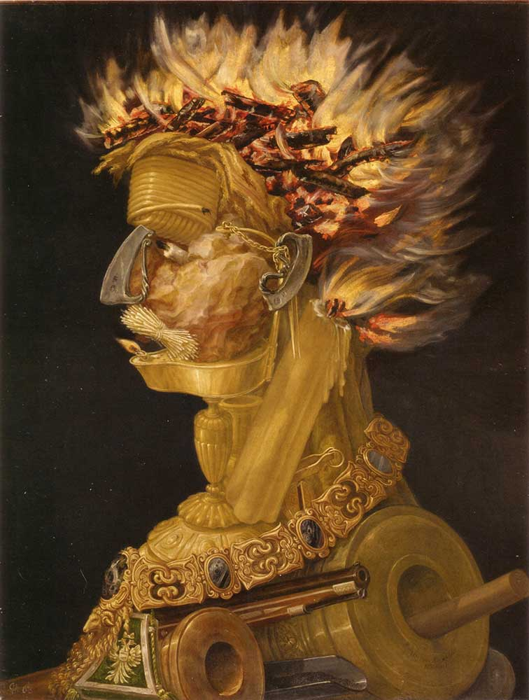 Giuseppe Arcimboldo Ateş