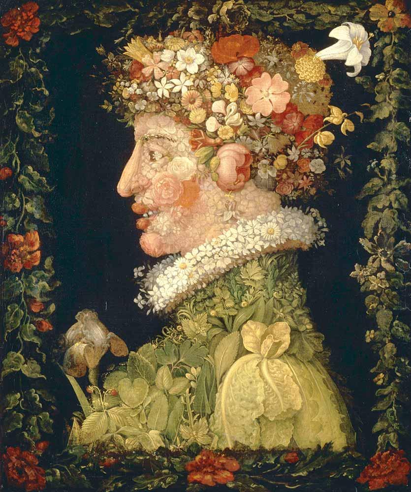 Giuseppe Arcimboldo ilkbahar