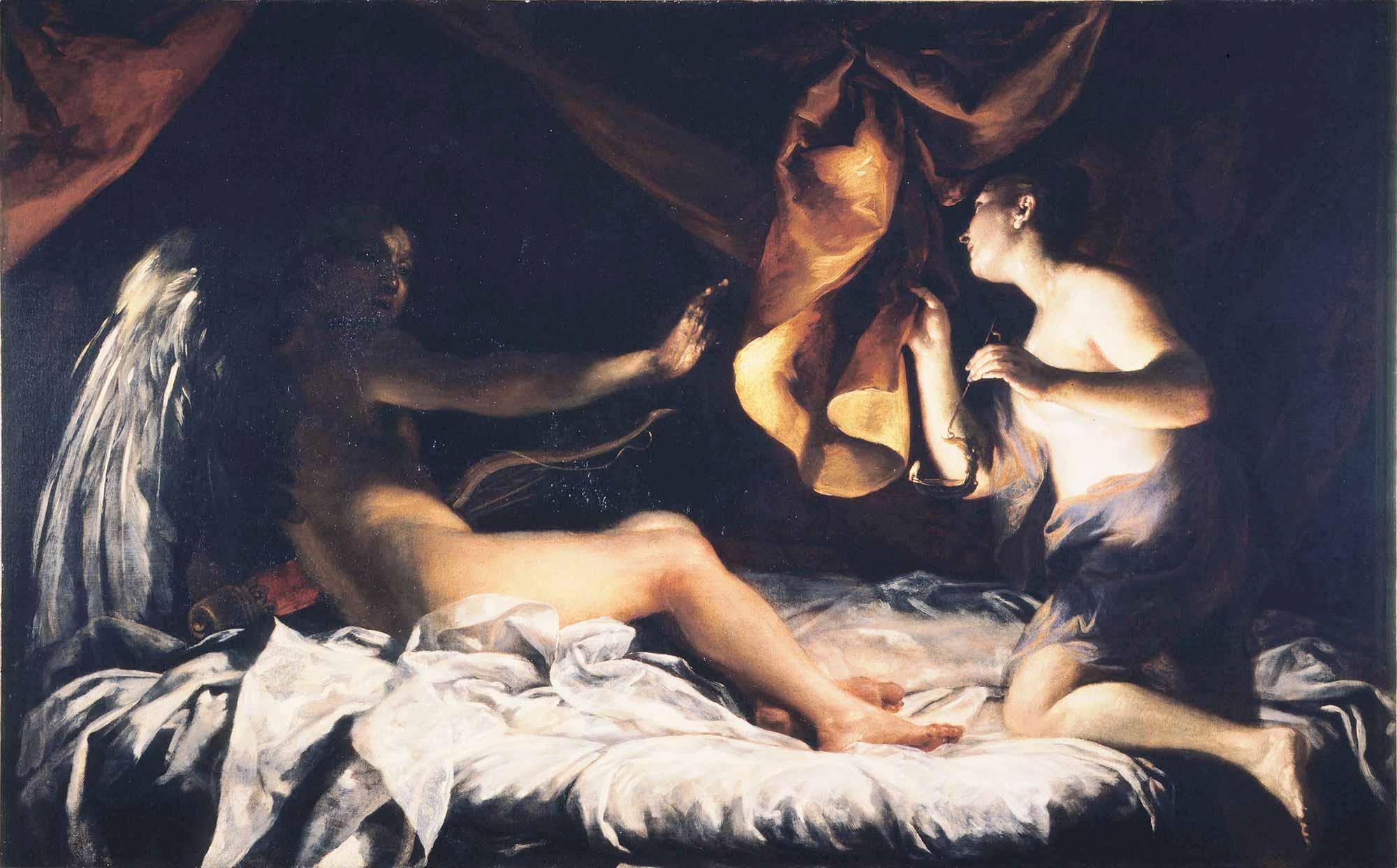 Giuseppe Maria Crespi Cupid ve Psyche