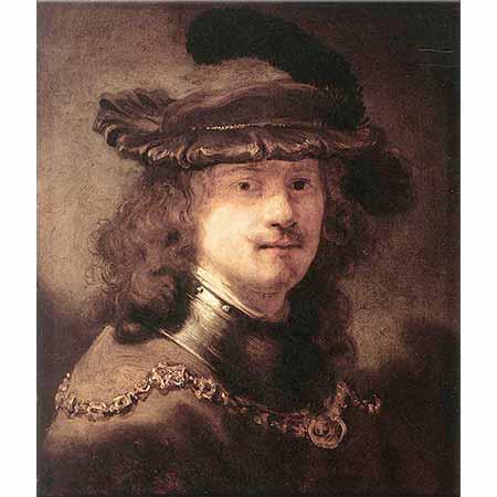 Govert Flinck Rembrandt'ın Portresi