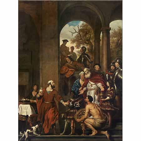 Govert Flinck Konsül Marcus Curius Dentatus'un Dürüstlüğü