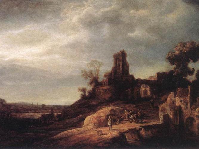 Govert Flinck Manzara tablosu
