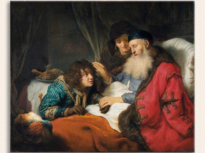 Govert Flinck Ishak Yakub'u Kutsarken