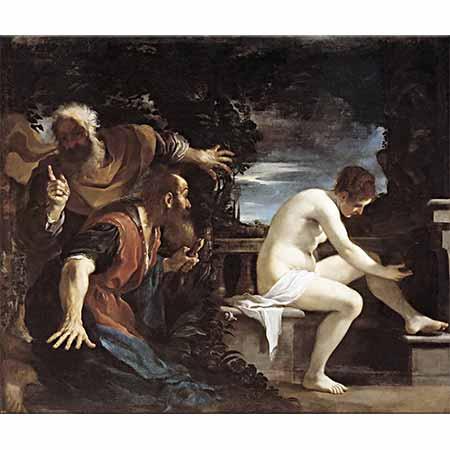 Guercino Susanna ve İhtiyarlar