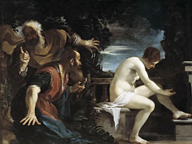 Guercino Susanna ve ihtiyarlar