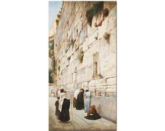 Gustav Bauernfeind Ağlama Duvarı Kudüs