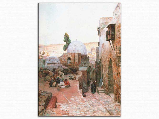 Gustav Bauernfeind Kudüs te Sokak