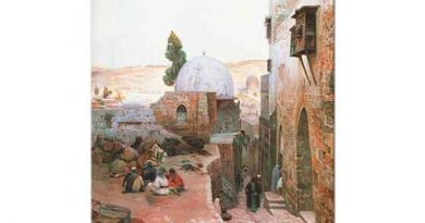 Gustav Bauernfeind Kudüs'te Sokak