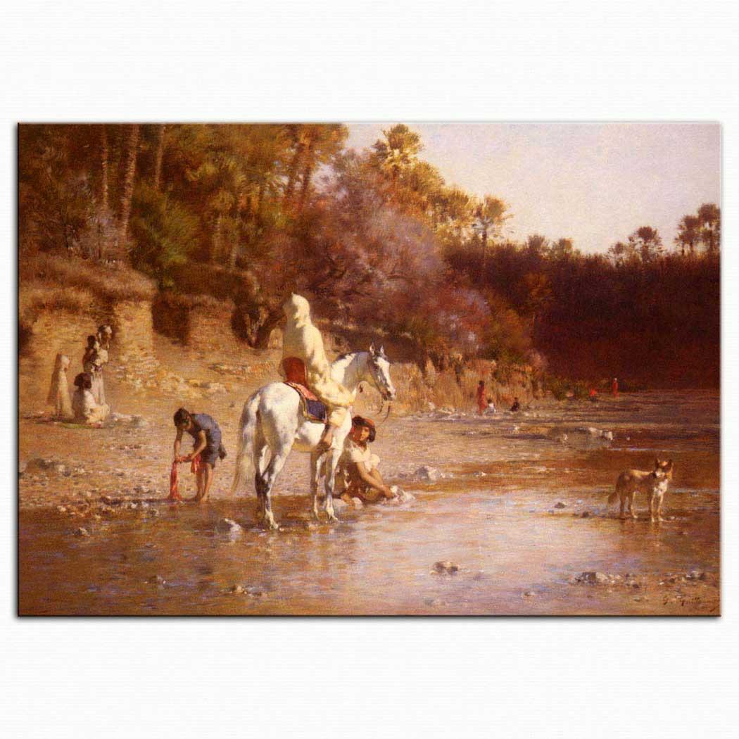 Gustave Achille Guillaumet El Katara Nehri