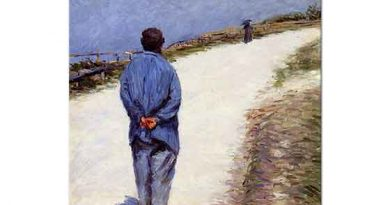 Gustave Caillebotte Gömlekli Adam