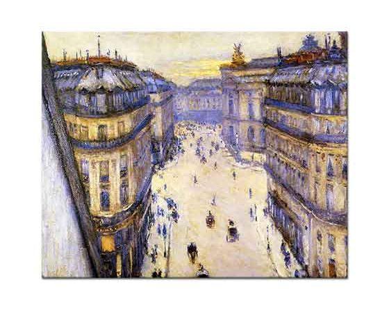 Gustave Caillebotte Halevy Caddesi, Altıncı Kattan
