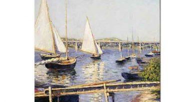 Gustave Caillebotte Kıyıda Yelkenliler