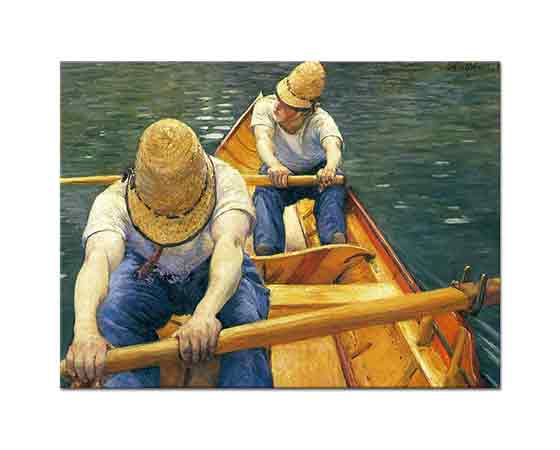 Gustave Caillebotte Kürekler