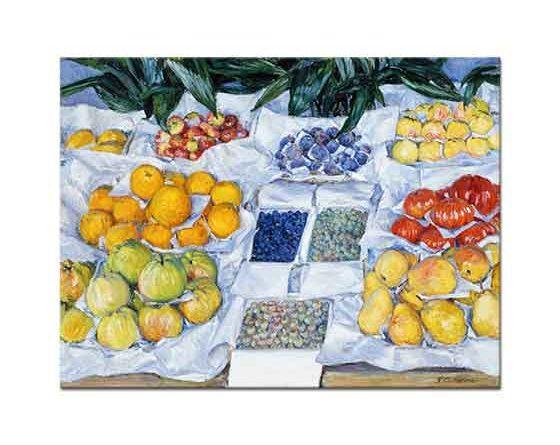 Gustave Caillebotte Meyve Standı