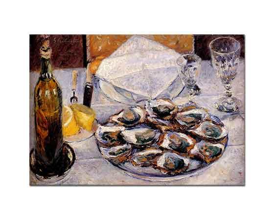 Gustave Caillebotte Midyeli Natürmort