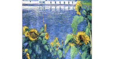 Gustave Caillebotte Sen Kıyısında Ayçiçekleri