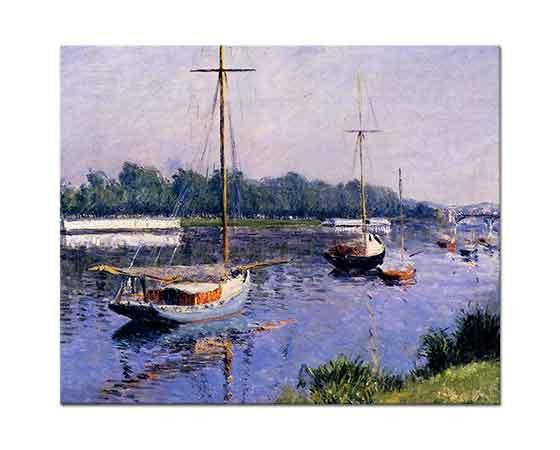 Gustave Caillebotte Tekneler