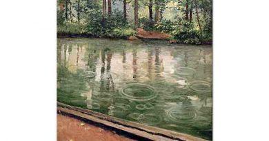 Gustave Caillebotte Yağmur