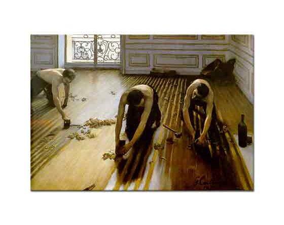 Gustave Caillebotte Yer Döşeme Ustaları