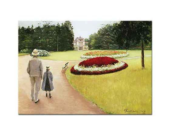 Gustave Caillebotte Yerres Parkında
