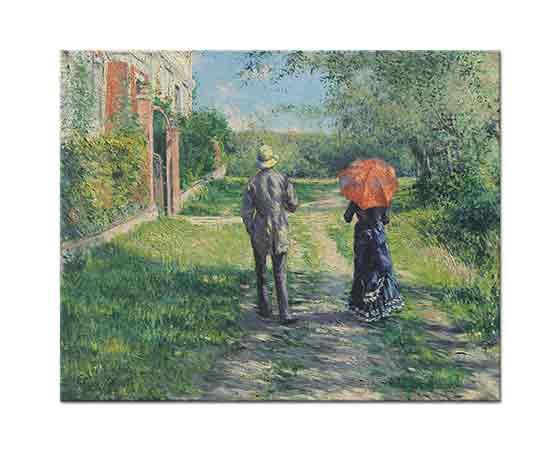 Gustave Caillebotte Yürüyüş Yolu