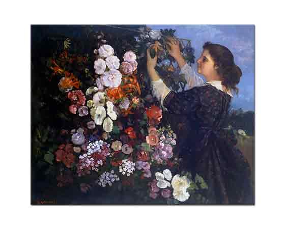 Gustave Courbet Çardak