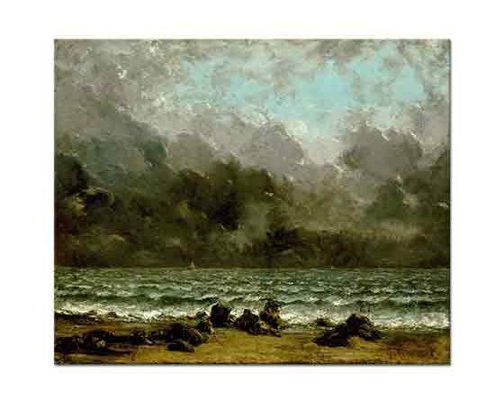 Gustave Courbet Deniz