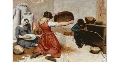 Gustave Courbet Elek Yapanlar