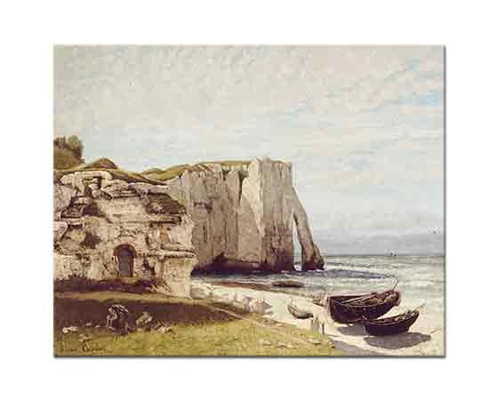 Gustave Courbet Etreta Sahili