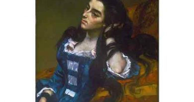 Gustave Courbet Fransız İspanyol Kadın