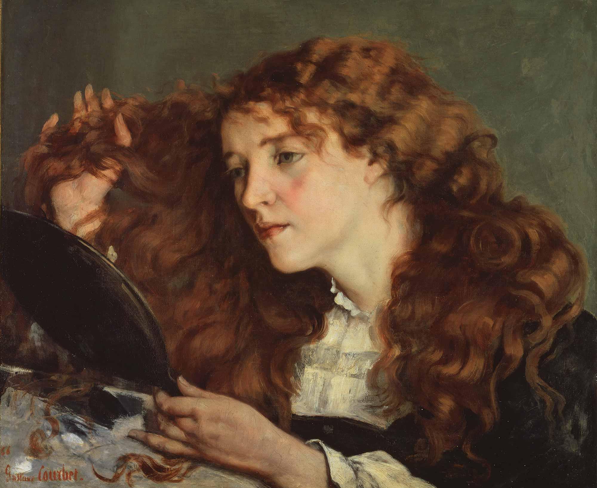 Gustave Courbet Güzel İrlandalı Kız