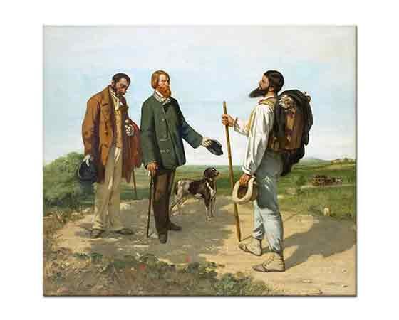 Gustave Courbet Karşılaşma