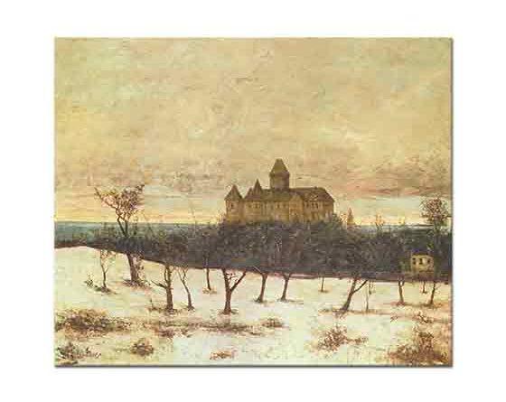 Gustave Courbet Neuenburger Denizi