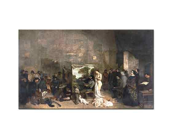 Gustave Courbet Ressamın Atölyesi