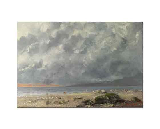 Gustave Courbet Sahilde