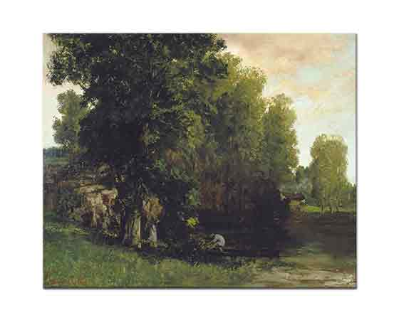 Gustave Courbet Su Kenarı