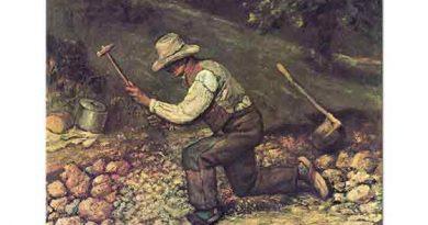 Gustave Courbet Taş işçisi