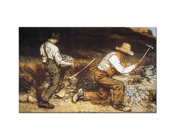 Gustave Courbet Taş Kıranlar