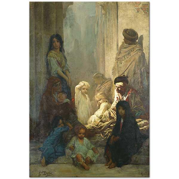 Gustave Dore Siesta Ispanya Hatırası