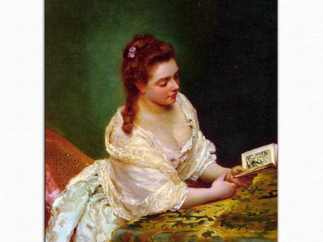 Gustave Jean Jacquet Kitap okurken
