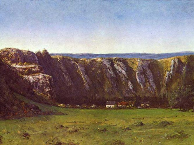 Gustave Courbet Ornan'da