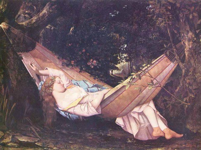 Gustave Courbet Hamakta