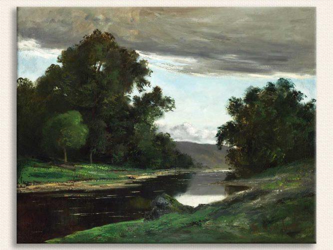 Gustave Courbet Peyzaj