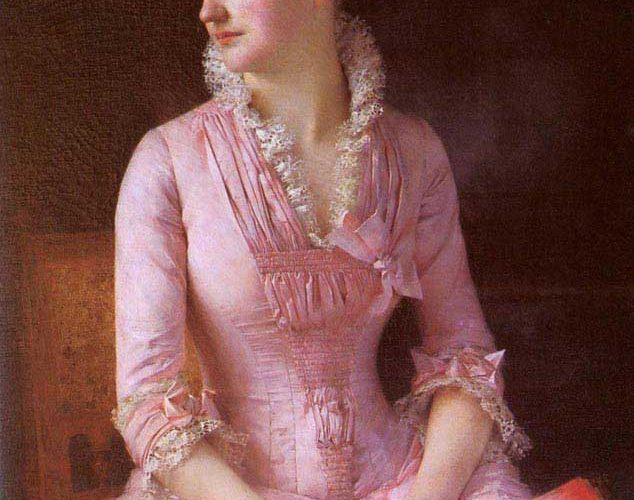 Gustave Claude Etienne Courtois Marie Dagnan'ın Portresi